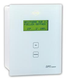 WGS Diplay elektroniku za moderne kaljeve peci za zatvaranje zraka